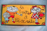 win a filled 'boita a biscuits' tin