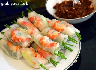 prawn rolls