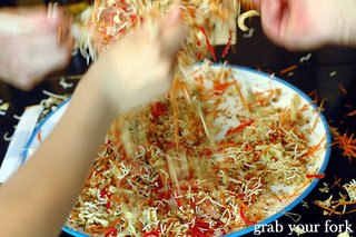 yee sang tossing