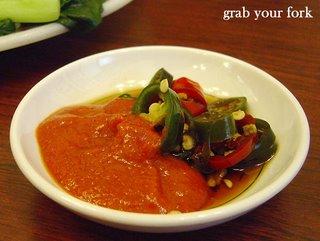 chilli sauce