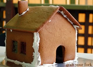 veruca's gingerbread house unadorned
