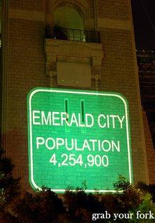 Sydney emerald city population