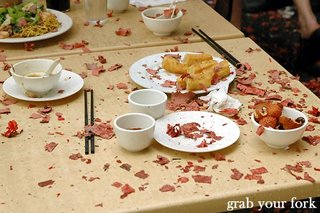 firecrackers table