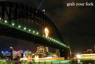 Sydney harbour bridge emerald city