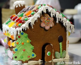 a's gingerbread house front