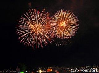 sydney nye fireworks 9pm double