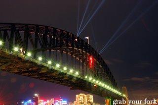 sydney harbour bridge question mark