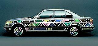 1991 BMW 525i Art Car by Esther Mahlangu 3