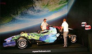 honda f1 racing car