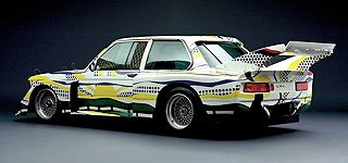 1977 BMW 320i Group 5 Raceversion Art Car by Roy Lichtenstein 3