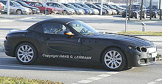 BMW Z9 spy shots