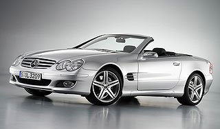 2007 Mercedes-Benz SL-Class Sports Package