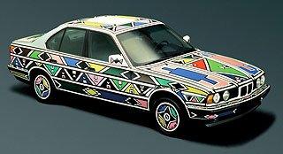 1991 BMW 525i Art Car by Esther Mahlangu