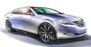 Hyundai New Luxury Sedan Genesis Concept