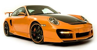 2007 TechArt GTstreet based on Porsche 911 997 Turbo