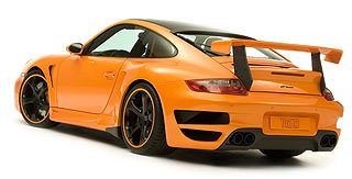2007 TechArt GTstreet based on Porsche 911 997 Turbo 3