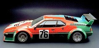 1979 BMW M1 Art Car by Andy Warhol 2