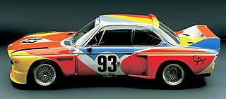 1975 BMW 3.0 CSL Art Car by Alexander Calder 2