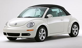 2007 Volkswagen New Beetle Convertible Triple White Special Edition