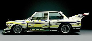 1977 BMW 320i Group 5 Raceversion Art Car by Roy Lichtenstein 2