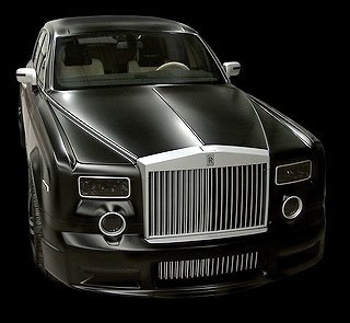 2007 Mansory Conquistador based on Rolls-Royce Phantom 2