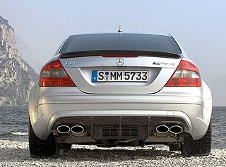 2008 Mercedes-Benz CLK 63 AMG Black Series 4