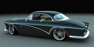 1966 Volvo Amazon Custom Coupe by Bo Zolland 2