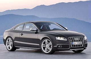 New Audi A5 Coupe 4
