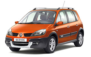 Renault Orange-Flavored Scenic Conquest