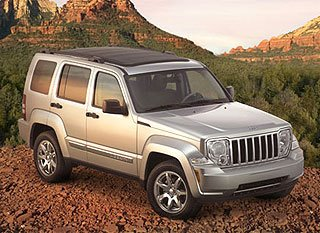 2008 Jeep Liberty Takes a Hard Turn Toward Toughness