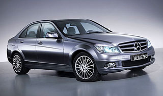 Mercedes-Benz First Four-Cylinder Bluetec Model
