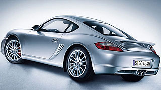 Slicker Porsche Cayman 2