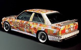 1989 BMW M3 Group A Raceversion Art Car by Michael Jagamara Nelson 3