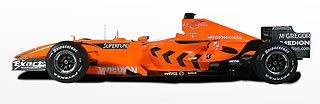 2007 Spyker Formula One F8-VII 3