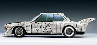 1976 BMW 3.0 CSL Art Car by Frank Stella 2