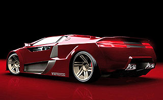 V8 Twin-Turbo Concept Design 4