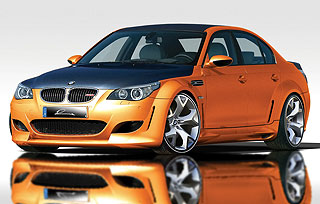 2007 Lumma Design CLR 500 RS BMW M5