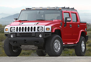 Hummer H2 Victory Red Limited Edition Model