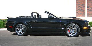 2007 Roush Stage 3 BlackJack Mustang Convertible