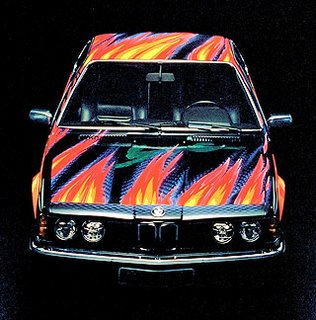 1982 BMW 635 CSi Art Car by Ernest Fuchs 2
