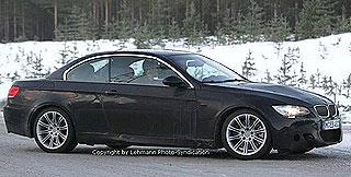 BMW M3 Cabrio E93 spy shots