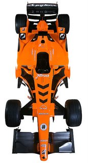 2007 Spyker Formula One F8-VII 4