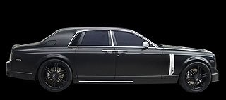 2007 Mansory Conquistador based on Rolls-Royce Phantom 3