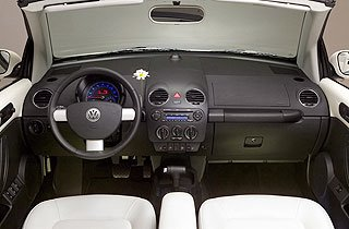 2007 Volkswagen New Beetle Convertible Triple White Special Edition 5