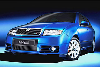 Fabia vRS special edition
