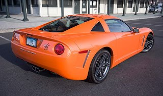 2007 Callaway C16 based on Chevrolet Corvette 5