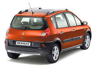 Renault Orange-Flavored Scenic Conquest 2