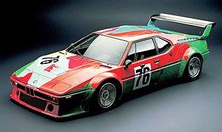 1979 BMW M1 Art Car by Andy Warhol