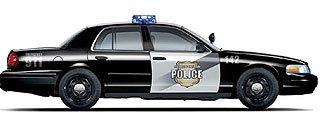 Ford Flex-Fuel 2008 Crown Victoria Police Interceptor 2