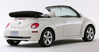 2007 Volkswagen New Beetle Convertible Triple White Special Edition 4